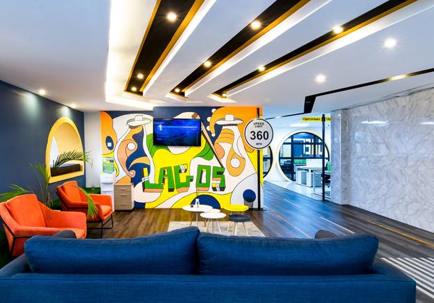360 Office Interior