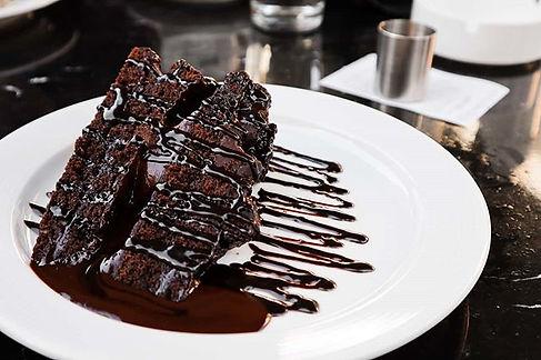 Nothing beats a warm nice chocolate cake