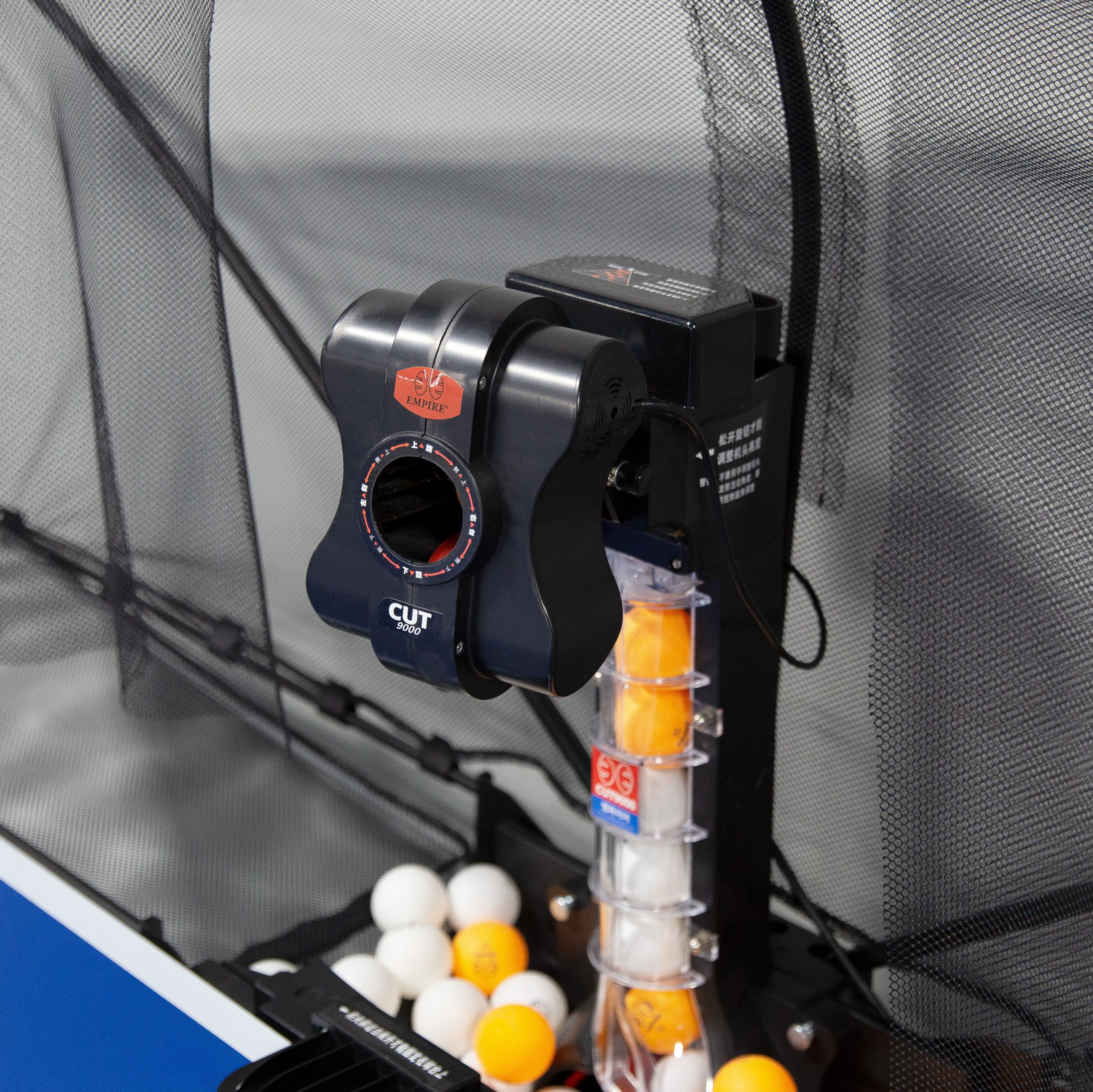 Robotic Table Tennis (Peak Hours)