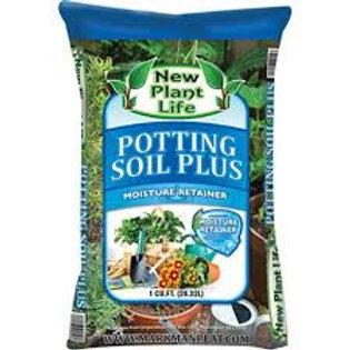 Premium Potting Soil With Moisture Retainer