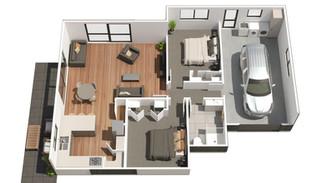 3D Floor Plan Imagery