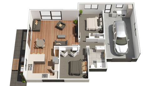 3D Floor Plan Imagery