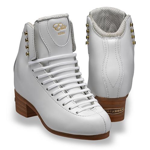 Jackson Custome Skate Boot. DJ 4200 with DJ 4500 Tongue