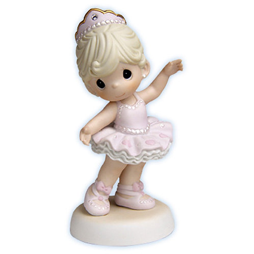Precious Moments Ballerina Figurine - You Sparkle with Grace and Charm