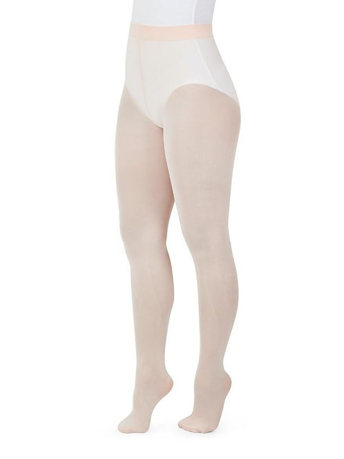 Capezio Seamless Ladies Ultra Soft Footed Tights