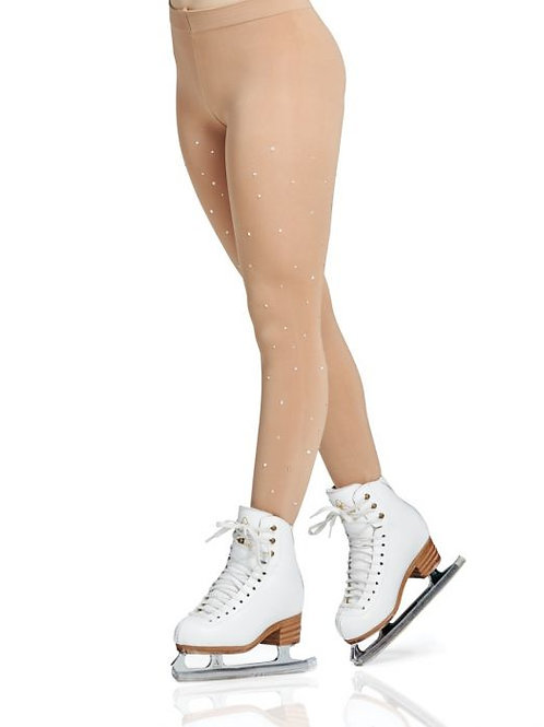 Mondor Rhinestones Footed Tights Child