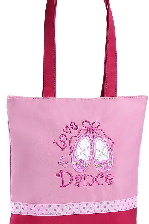 Sassi Love 2 Dance Pink Tote