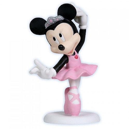 Precious Moments Minnie Mouse Ballet Dancer Figurine