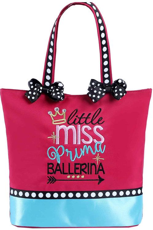 Little Miss Prima Ballerina Tote