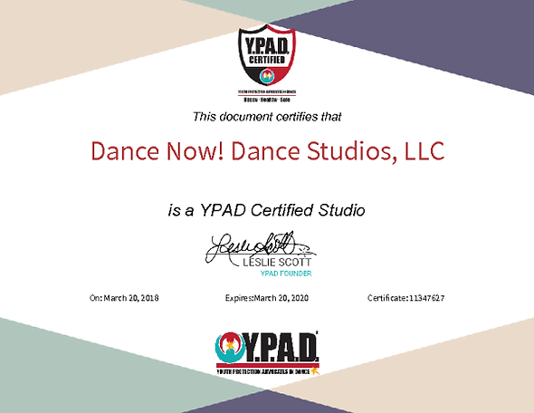 YPAD Certification.png