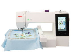 Sew your own designs, fashions that nobody can copy will be yours now with your New Janome Embroider