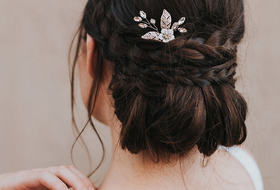 """Constance"" Bridal Hair Pin"
