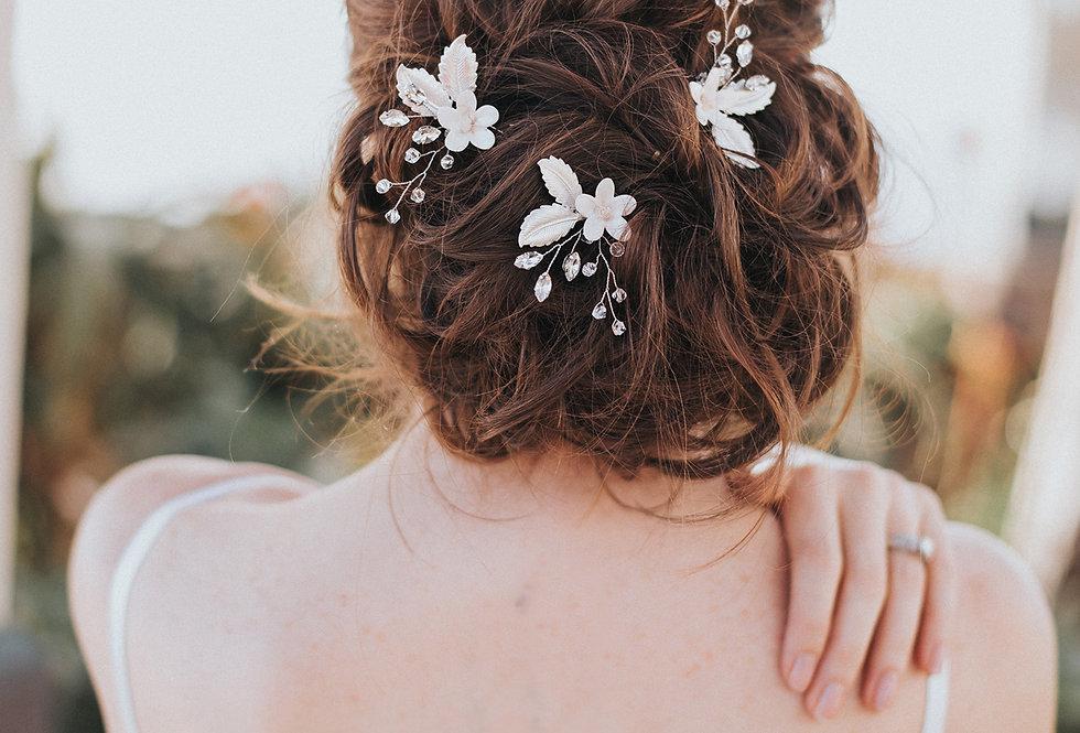 """""""Lindsay"""" Bridal Hair Pin"""