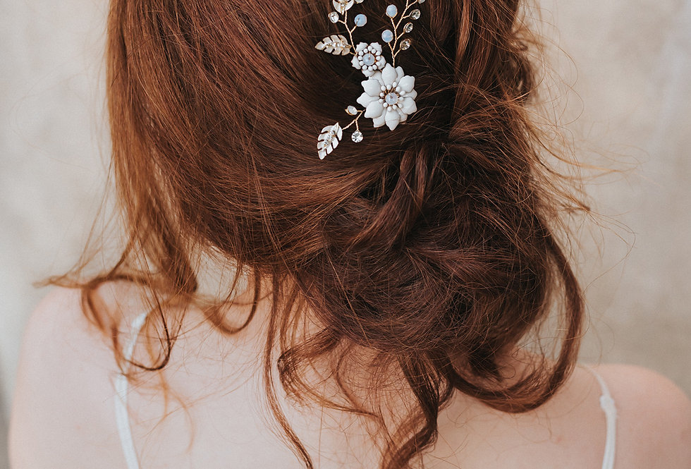 """""""Brylee"""" Small Bridal Hair Comb"""