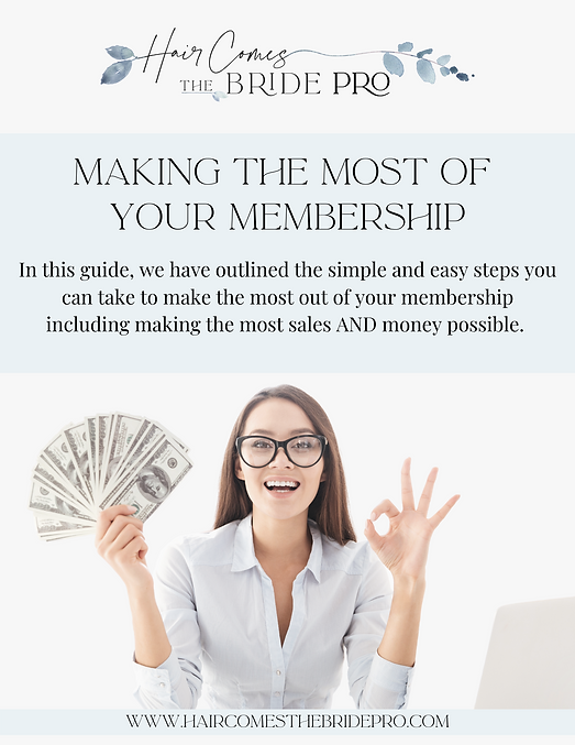 HCTB PRO- Make the Most of Your Membersh