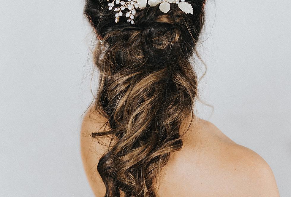 """""""Peyton"""" Large Bridal Hair Comb"""