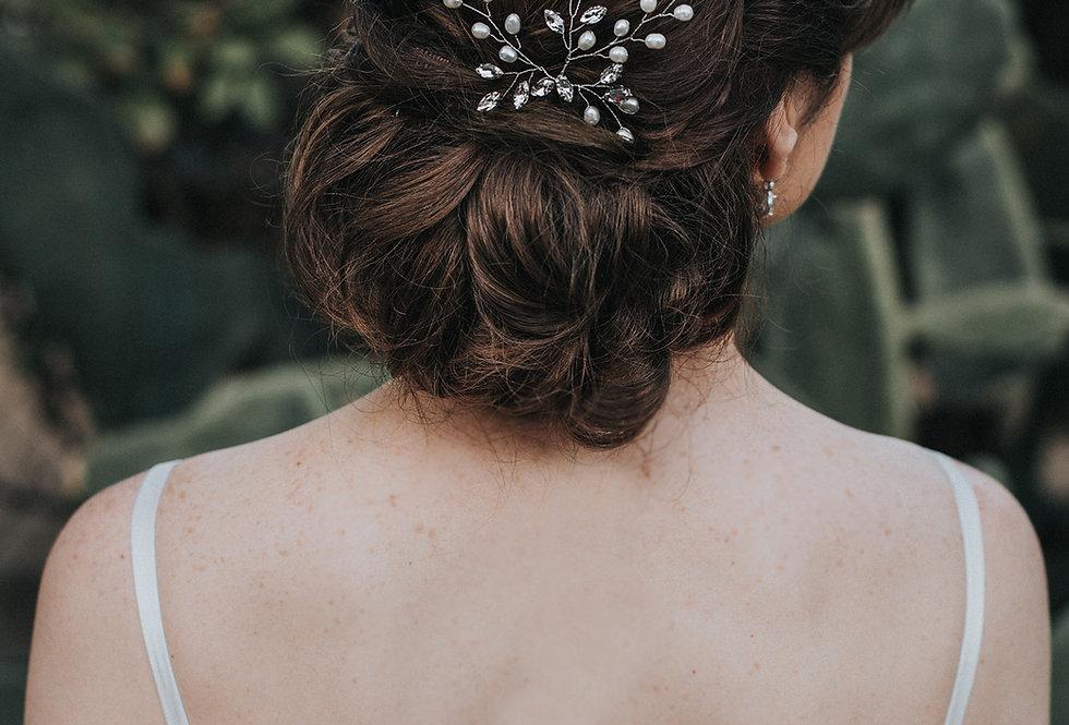 """Jessica"" Bridal Hair Pin"