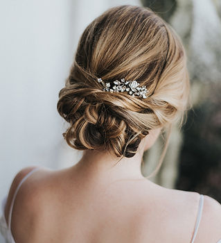 Addison-bridal hair pin rhinestone cryst