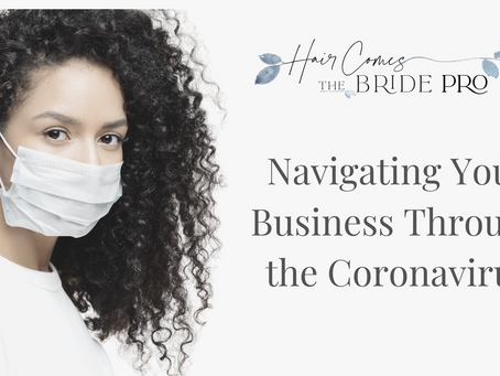 Navigating Your Bridal Business Through the Coronavirus