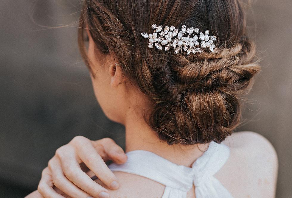 """Brooklyn"" Small Bridal Hair Comb"