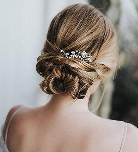 Addison-bridal hair pin rhinestone cryst