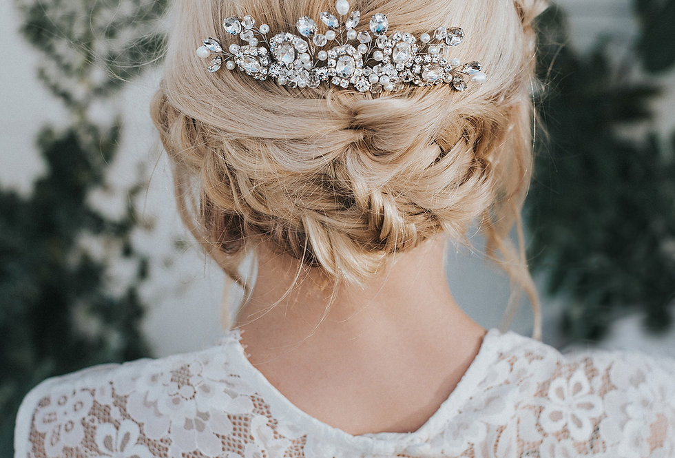 """Collette"" Bridal Hair Comb"