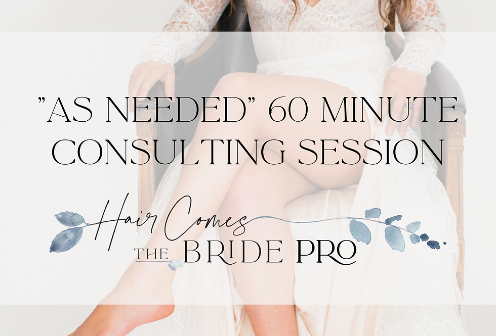 """As Needed"" 60 Minute Consulting Session"
