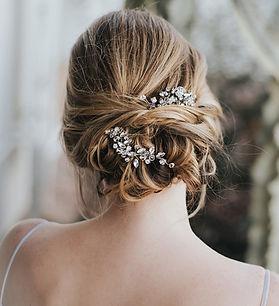 Addison-bridal hair pin rhinesotne cryst