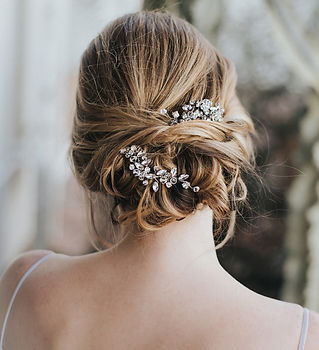 Addison-bridal hair pin rhinesotne cryst