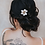 "Thumbnail: ""Estrella"" Small Flower Hair Comb"
