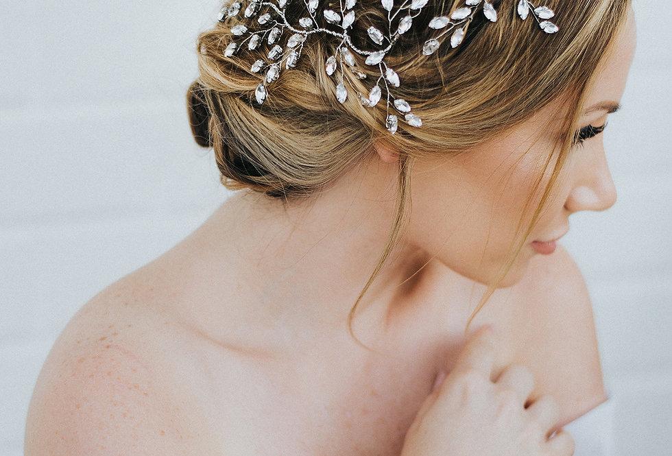 """Verena"" Bridal Hair Vine"