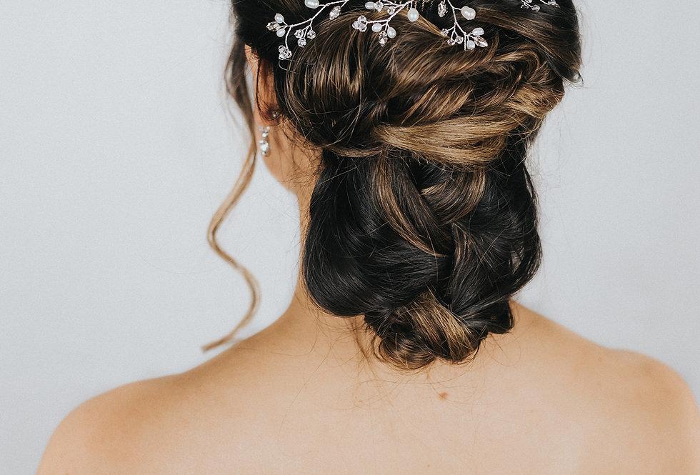 """Eloise"" Medium Bridal Hair Comb"