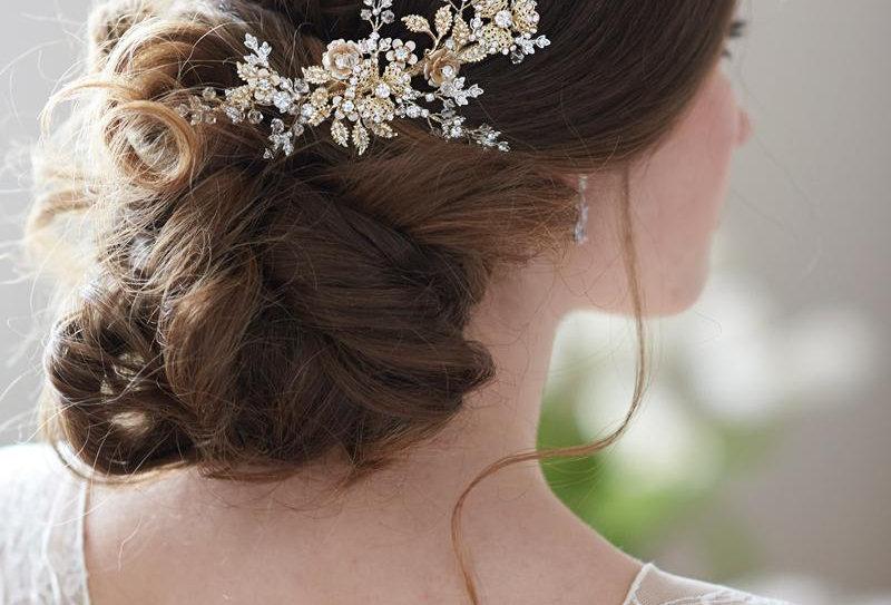 """""""Alyssa"""" Bridal Hair Clip"""