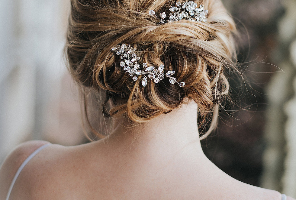 """Addison"" Bridal Hair Pin"