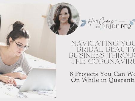 Navigating Your Bridal Business Through the Coronavirus