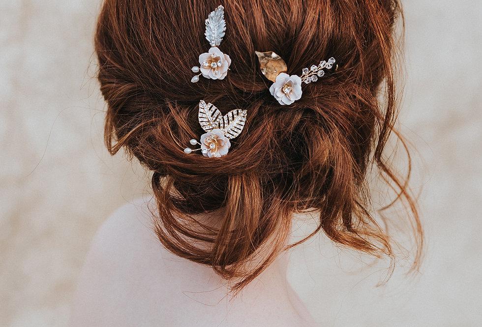 """""""Everleigh"""" Hair Pin Set"""