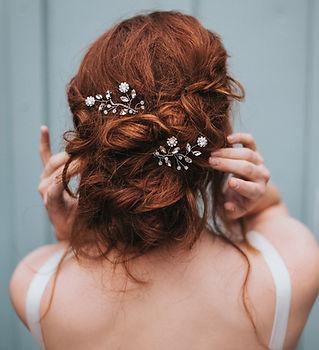Delilah Flower Beaded Bridal Hair Pin 3-