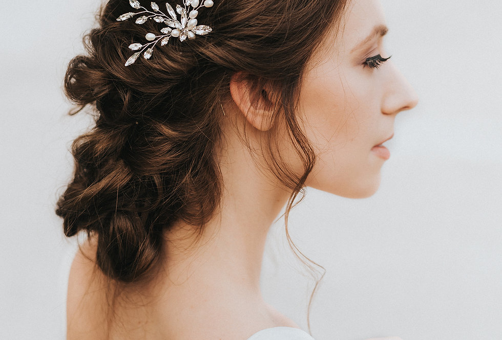 """Nyla"" Bridal Hair Pin"