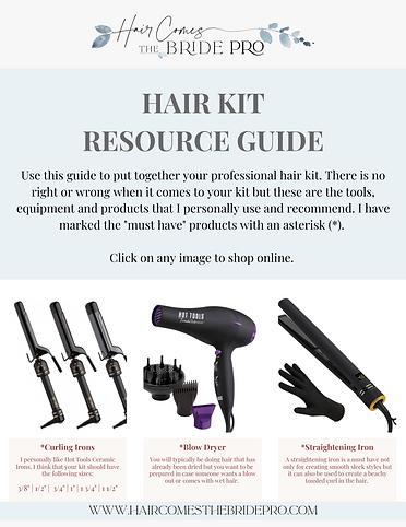 Hair Kit Resource Guide
