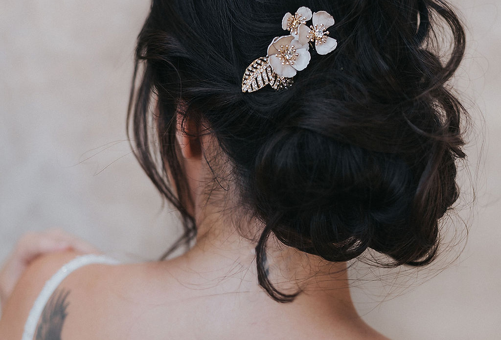 """Alexandra"" Small Bridal Hair Comb"