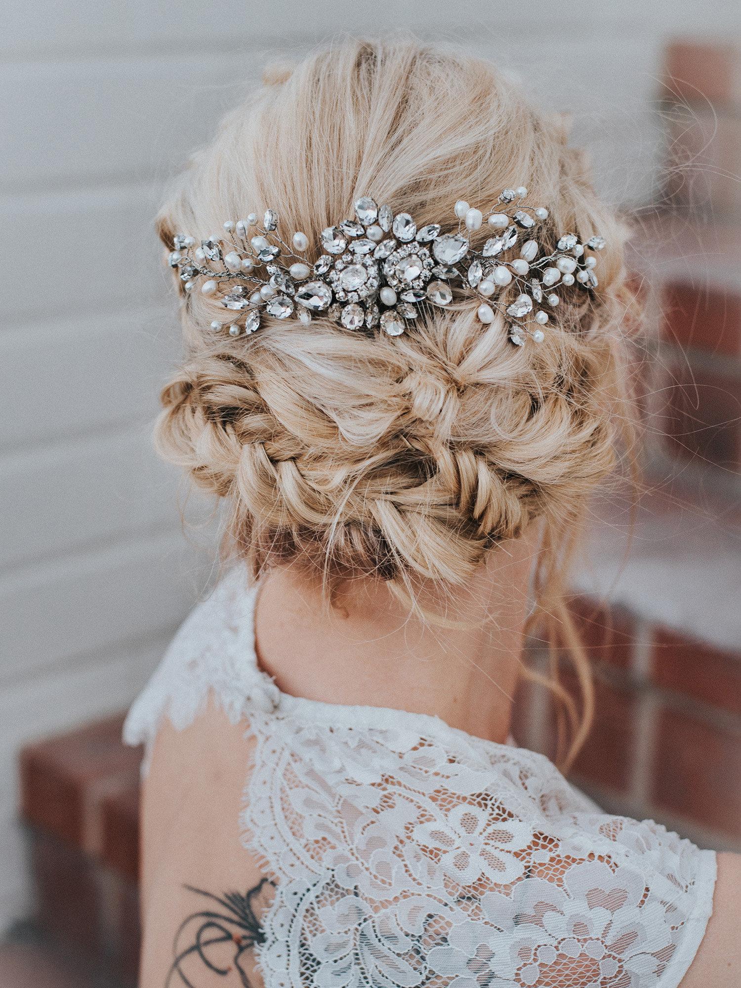 Carmen Large Bridal Hair Comb Hair Comes The Bride
