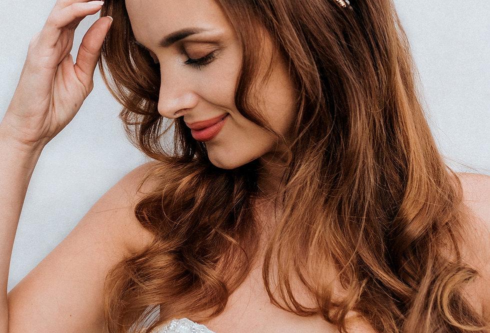 """""""Sutton"""" Bridal Hair Vine Headband"""
