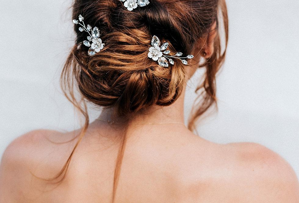 """""""Kimber"""" Small Bridal Hair Pin"""