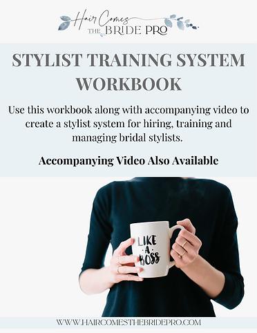 Stylist Training System Workbook - Downl