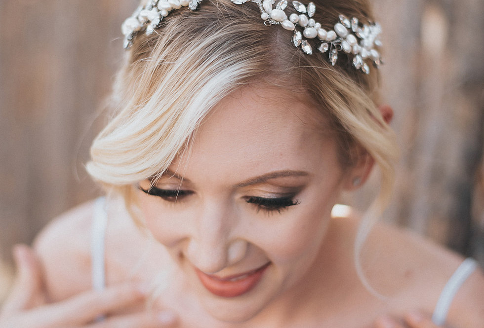 """Lela"" Hair Vine Headpiece Headband"
