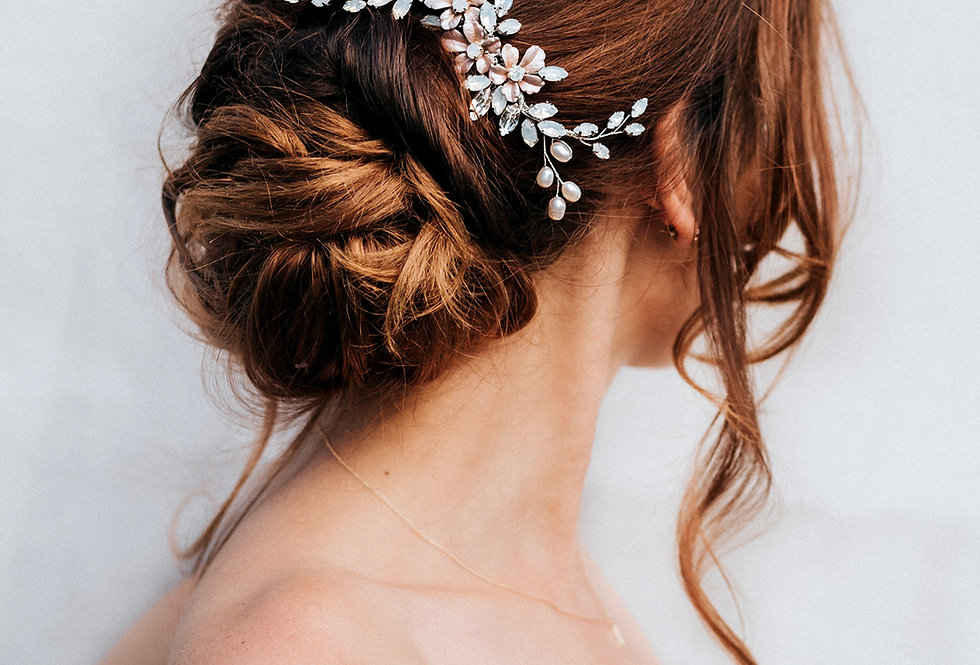 """Sutton"" Bridal Hair Comb"