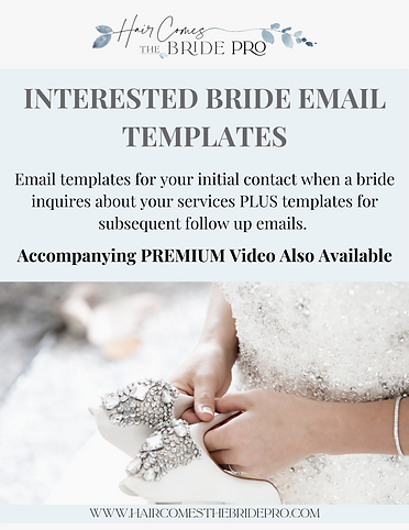 Interested Bride Email Templates - DOwnl