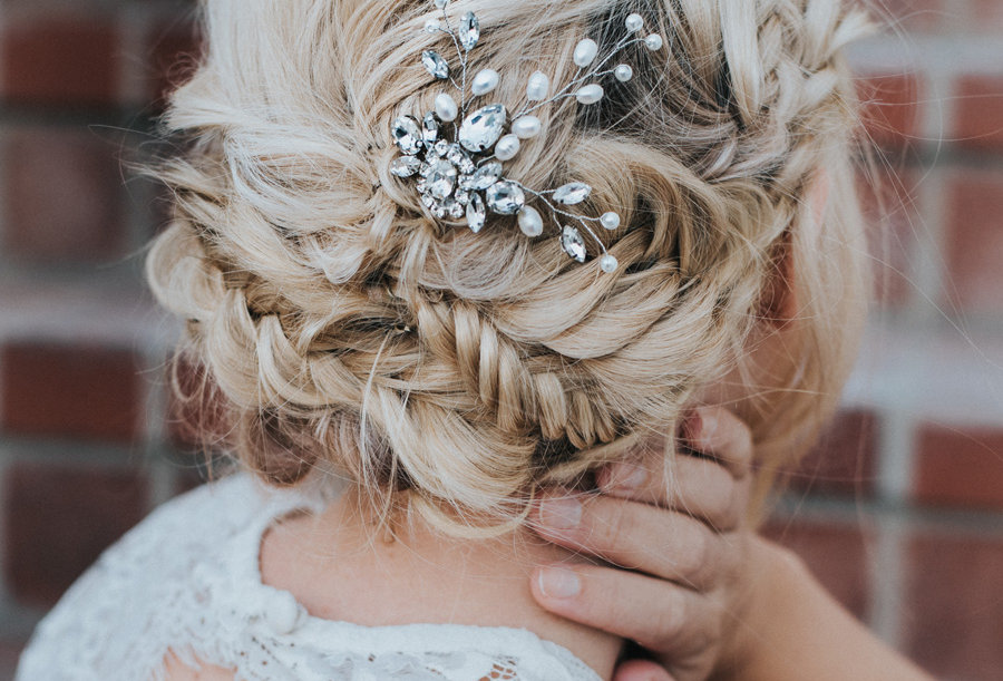 """Carmen"" Bridal Hair Pin"