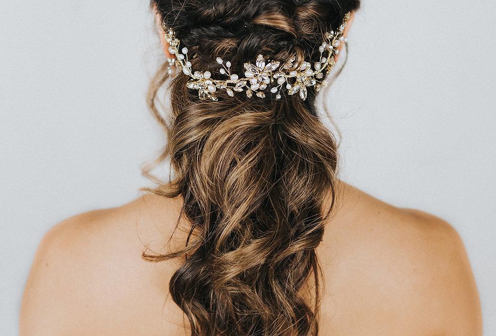 """""""Dakota"""" Bridal Hair Vine"""
