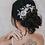 "Thumbnail: ""Courtney"" Floral Bridal Hair Comb"